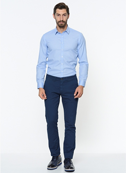 George Hogg Slim Fit Chino Pantolon Petrol